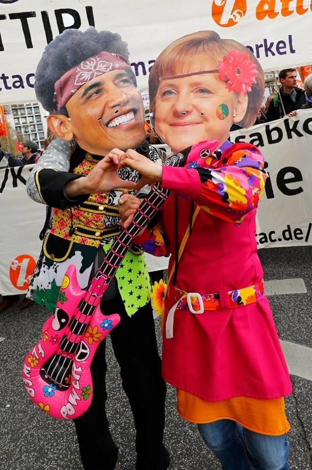 Nemecká kancelárka Angela Merkelová sa usiluje o uzavretie dohody do konca tohto roka. Pre Európu v nej vidí veľa ekonomických benefitov, ktoré odborníci vyčísľujú na sumu 100 miliárd dolárov pre európsku aj pre americkú stranu. Foto: REUTERS