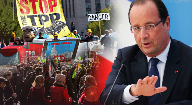 """Mnohé štáty však začínajú voči TTIP vyslovovať pochybnosti. ,,Francúzsko si stanovilo podmienky. Ak existuje nebezpečenstvo pre poľnohospodárov, ak nebude reciprocita, transparentnosť, nebudeme mať prístup do amerického systému verejného obstarávania a na druhej strane USA budú mať prístup do všetkého, nebudeme TTIP akceptovať,"""" povedal nedávno vo francúzskej verejnoprávnej televízii francúzsky prezident Francois Hollande. Foto: BBC.COM"""