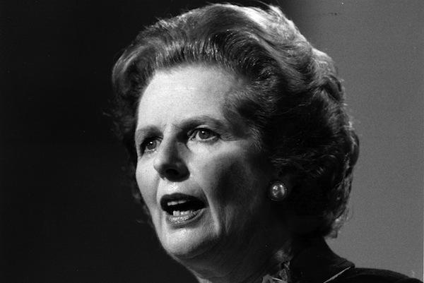 """,,Chcem svoje peniaze späť"""", povedala Thatcherová na summite v Dubline v roku 1979. Vo svojej knihe Umenie vládnuť na margo európskych krajín napísala: ,,V priebehu môjho života všetky problémy prišli z kontinentálnej Európy a všetky riešenia od anglicky hovoriacich národov na celom svete."""" FOTO: SITA/AP"""